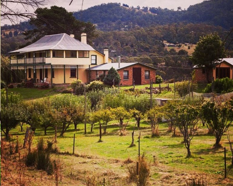 Stanton Cottage in the Derwent Valley Tasmania