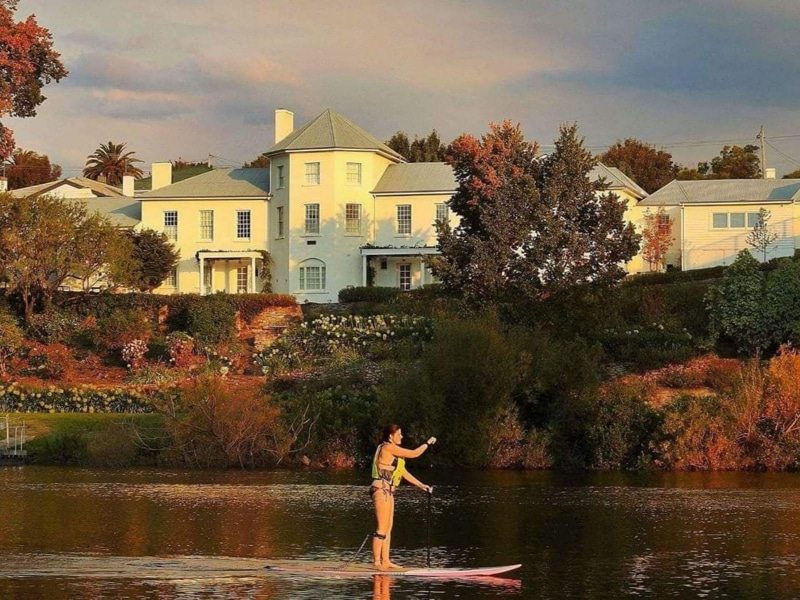 Paddle a Kayak or Stand-Up Board Autumn 2018