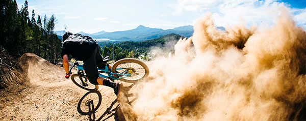 Maydena Bike Park - eat my dust