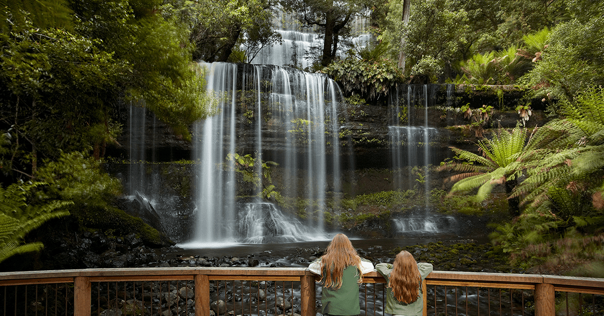 Spring time at Russell Falls